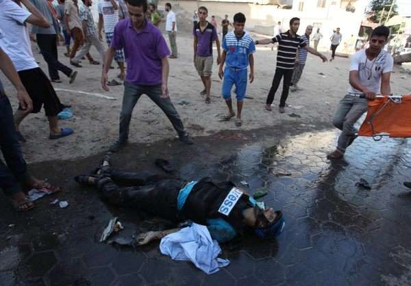 6 massacres in one day, one of which in an UNRWA school, while Israel is trying to isolate Gaza from the world