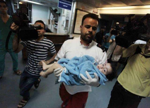 Statistics on the third day of the Israeli Offensive on Gaza