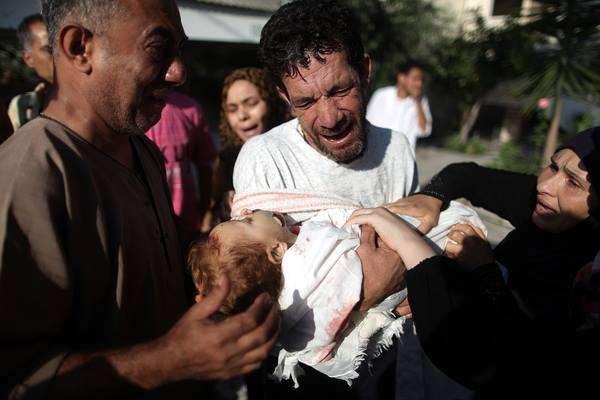 Israel massacring second Gaza suburb in six days