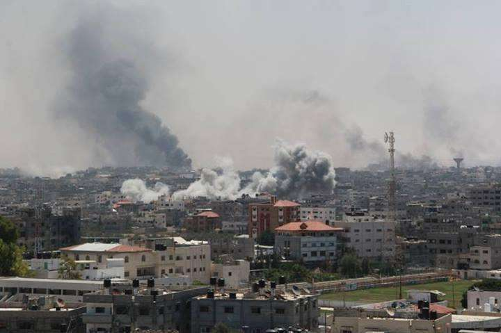 Israeli assault seeks to destroy the foundations of the future life in Gaza