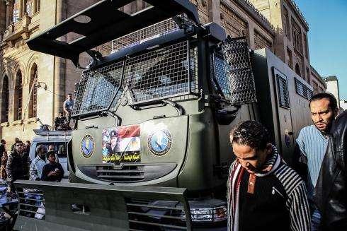L'Union européenne et la France complices de la répression en Égypte