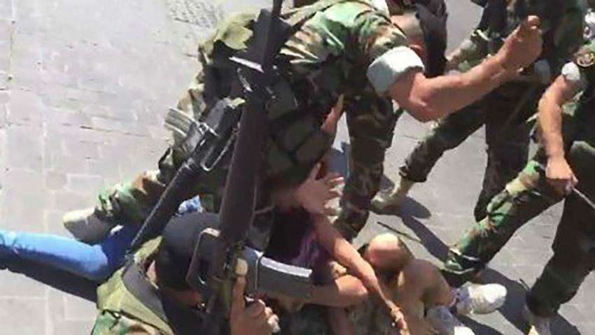 على لبنان محاسبة العسكريين الذين ضربوا المحتجين