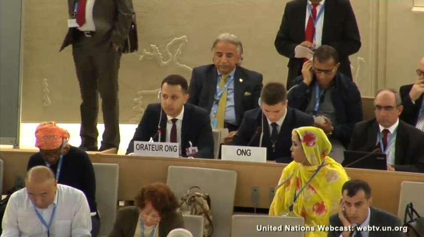 Euro-Med conclut sa participation aux  sessions du Conseil des Droits de l'Homme