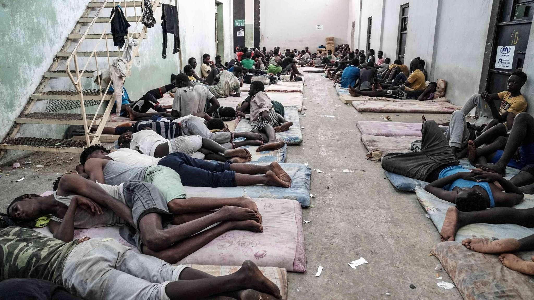 ليبيا: عشرات اللاجئين رهن الاختطاف من قبل عصابات مسلحة
