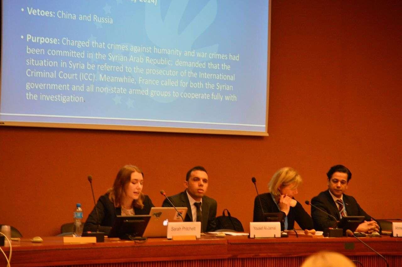 ندوة في مجلس حقوق الإنسان حول أوضاع المدنيين في ظل النزاعات المسلحة في الشرق الأوسط