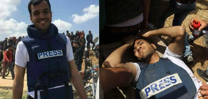 الأورومتوسطي يوجه شكوى عاجلة لمقرر الأمم المتحدة حول استهداف الصحفيين