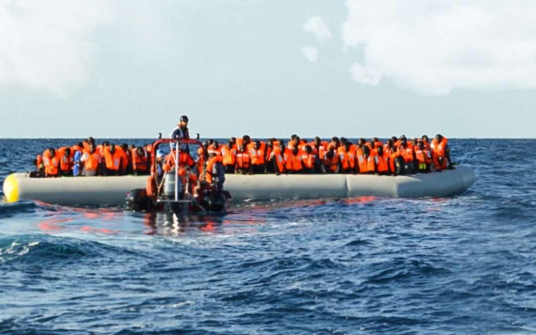تصريح صحفي حول المهاجرين العالقين على متن سفينة تجارية في البحر المتوسط منذ 10 أيام