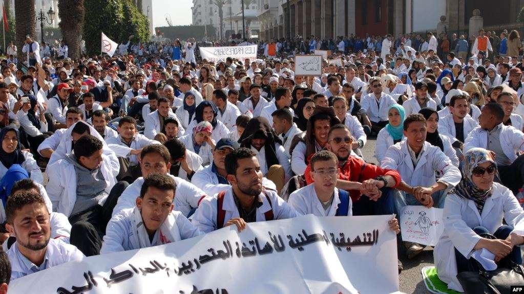 Euro-Med appelle les autorités marocaines à respecter les protestations des étudiants en médecine