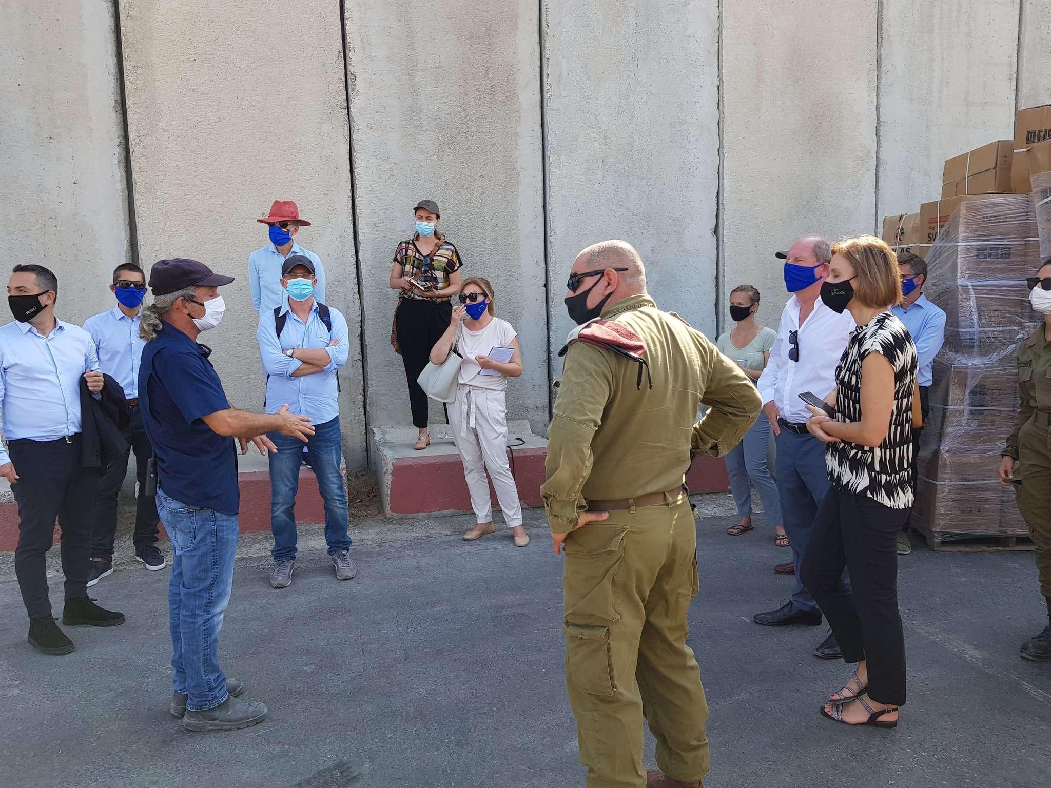Euro-Med Monitor regrets EU diplomats visit to southern Israel