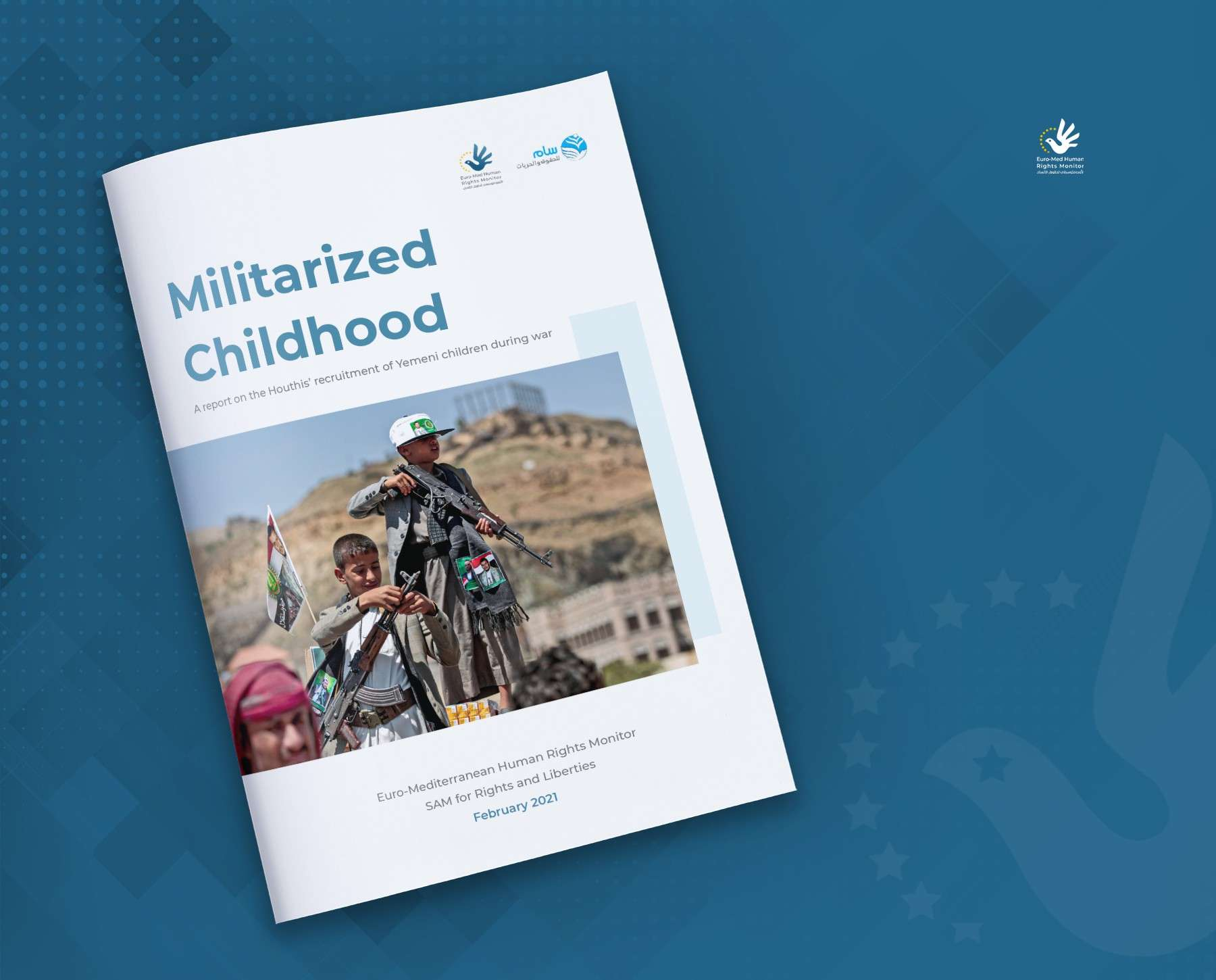 Euro-Med Monitor & SAM's new report: Houthis recruited more than 10,000 children in Yemen