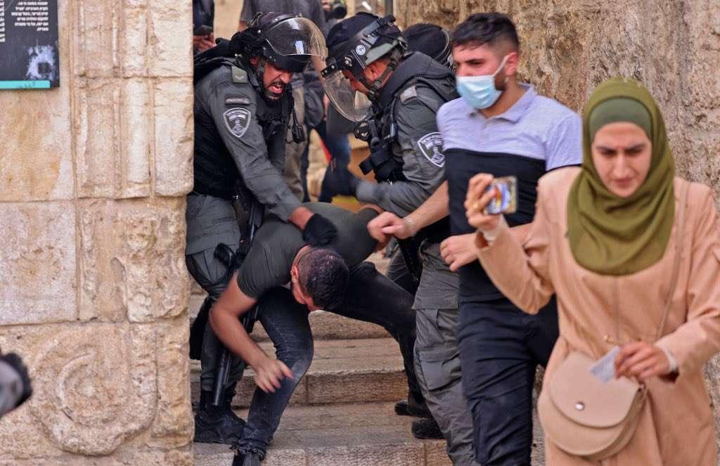 Bref communiqué de presse sur les événements survenus à la mosquée Al-Aqsa.