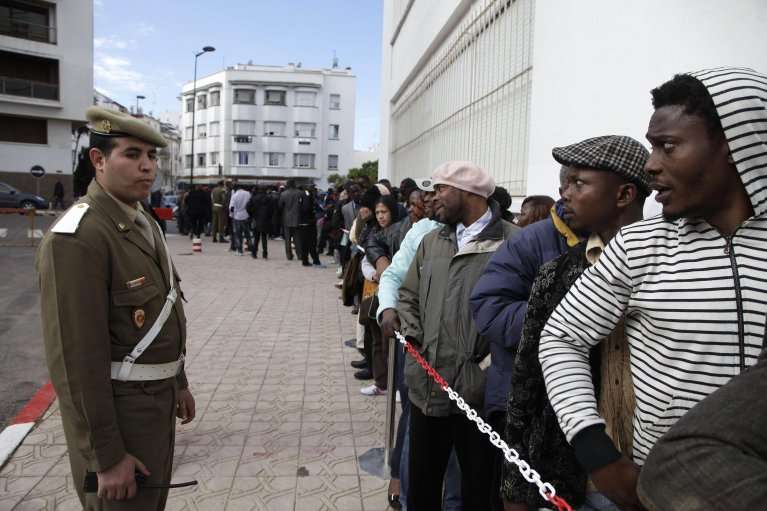 Morocco carries out campaigns of mass arrest, forcible displacement of African migrants