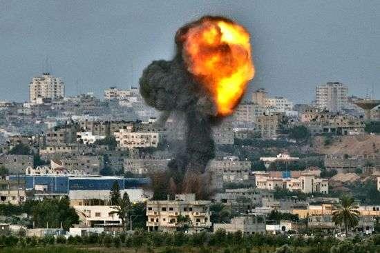 Euro-Mid: 1,643 Shells Fired at Gaza