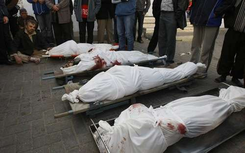 Israeli Massacre against Samouni Family Continues