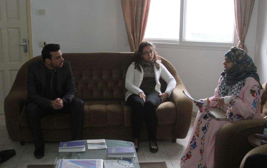 Euro-Med Monitor, International Advisor Maha Al-Fahed   Discuss Human Rights Situation in Gaza