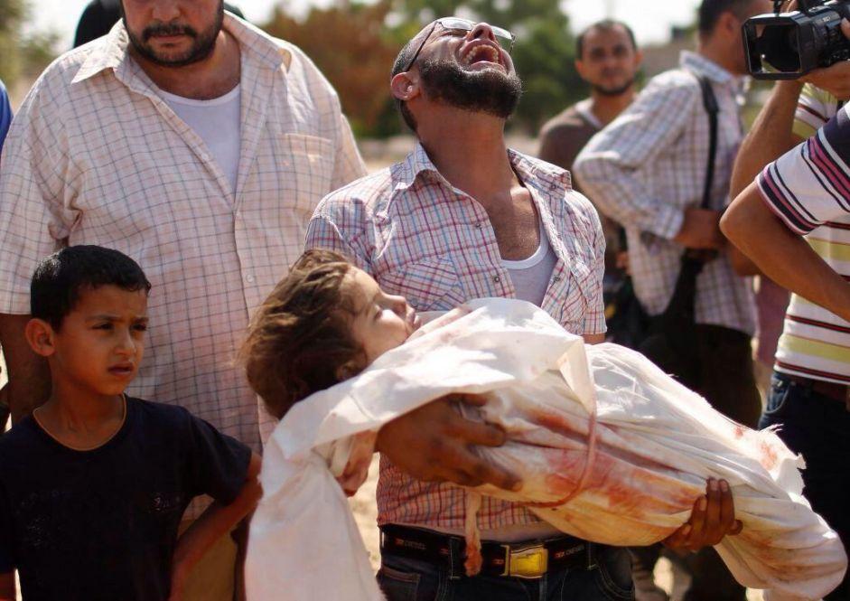 الهجوم البري على غزة يشرد أكثر من 135 ألف غزي