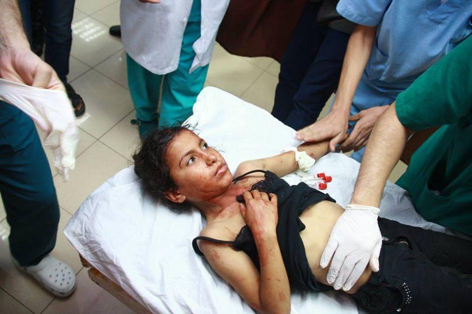 احصائية اليوم الخامس: القوات الإسرائيلية تتعمد إستهداف المدنيين
