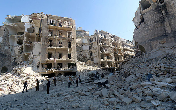 Activists accuse Syria of indiscriminate barrel bombing