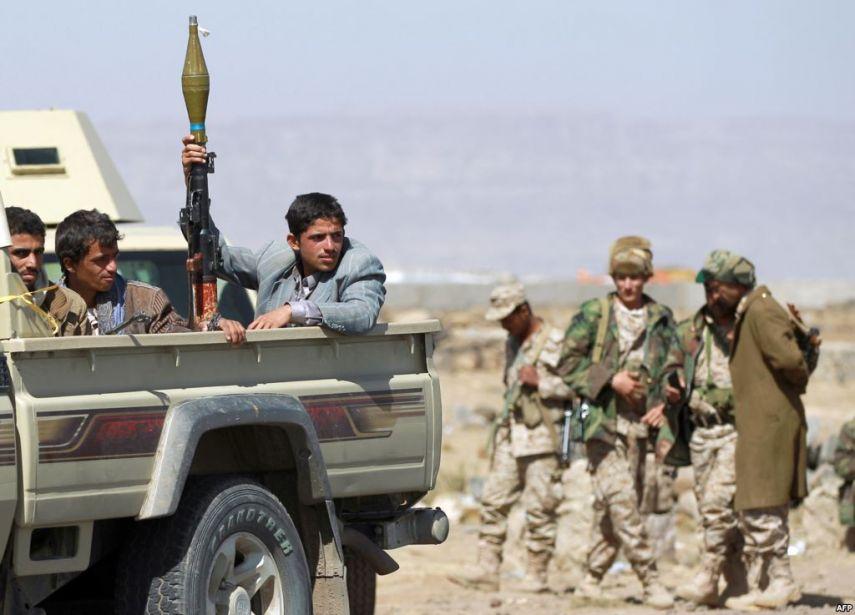 تقرير حقوقي يكشف انتهاكات  الحوثيين بتعز