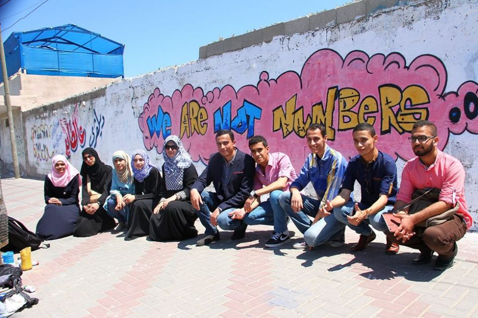 Gaza Youth Join Euro-Med Monitor to Declare 'We Are Not Numbers'