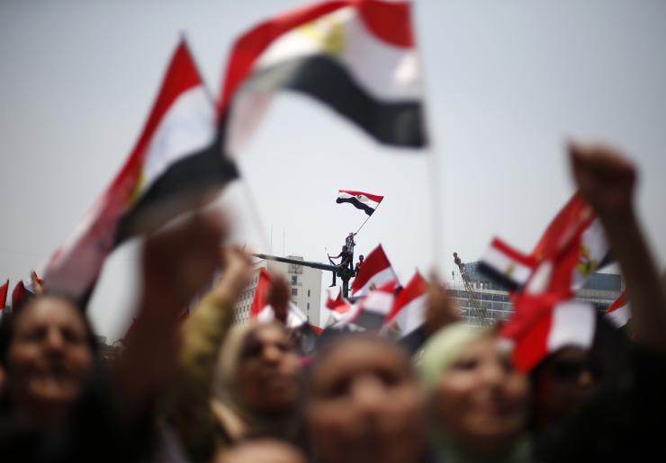 Egyptian journalists insist on opposing terror act
