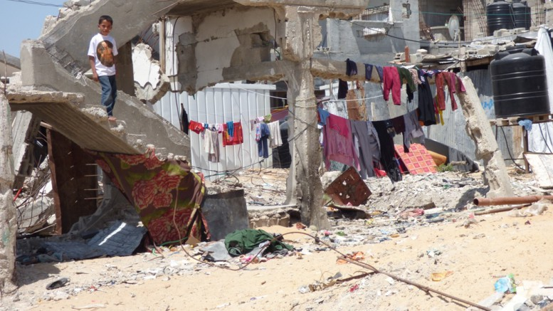 One year on, 100,000 Palestinians are still displaced in Gaza