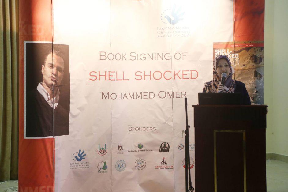 Gazans celebrate publication of war memoir