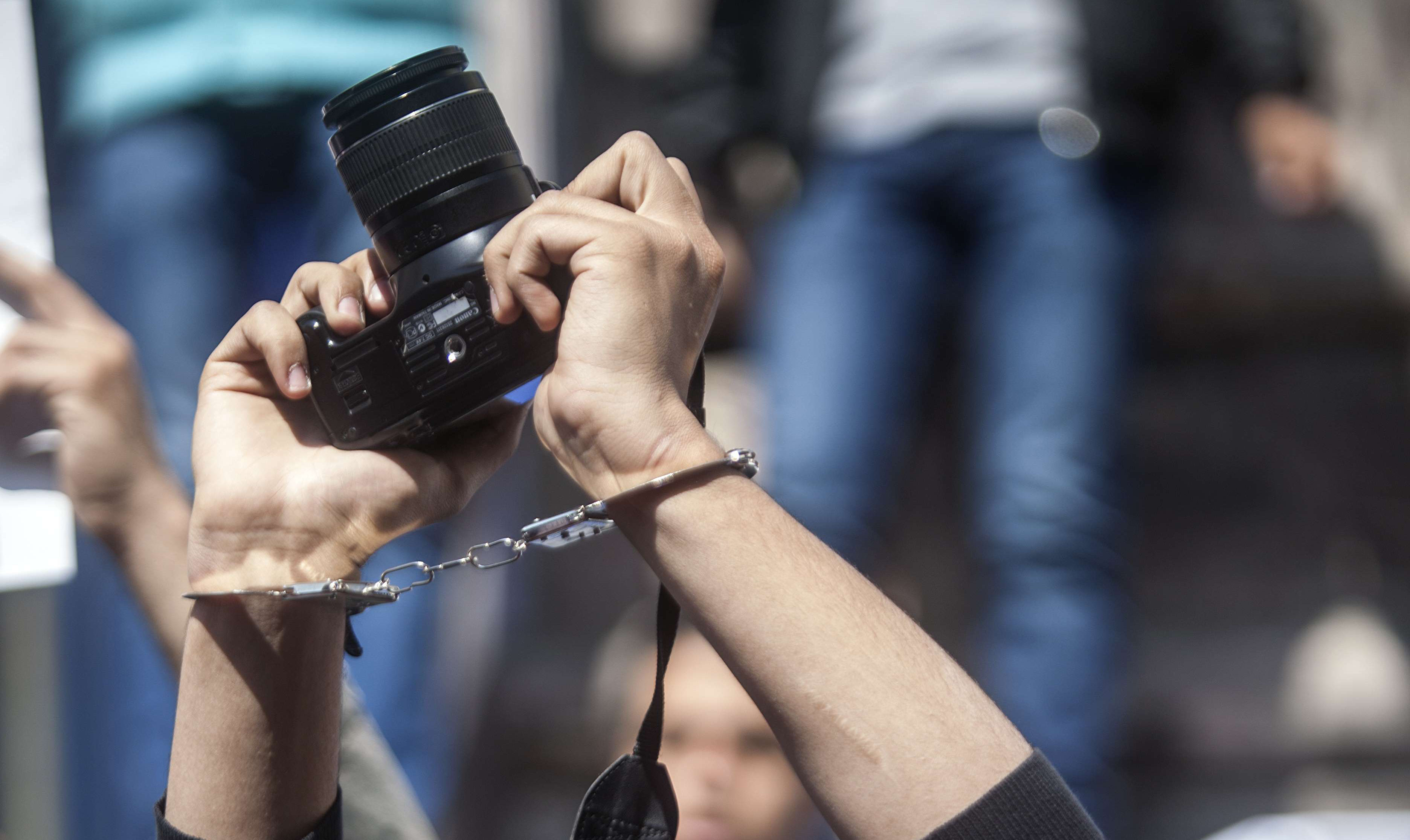 Practicing journalism in Egypt is 'risky business,'