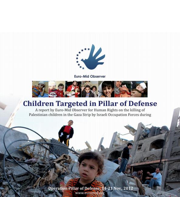 Children targeted in Pillar of Defense