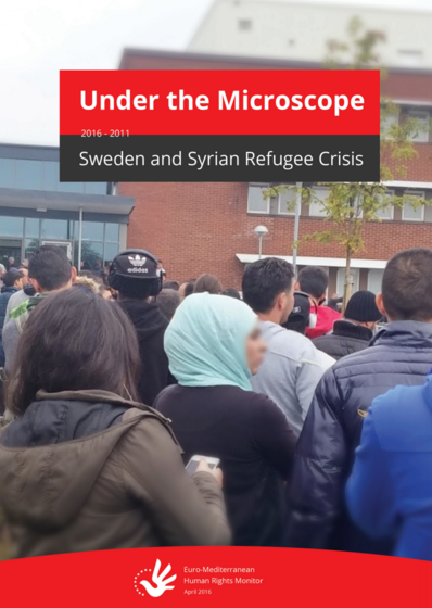Under the Microscope; Sweden and Syrian Refugee Crisis