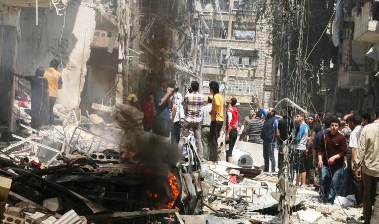 The random attacks by Assad and Russia on Aleppo amount to crimes against humanity