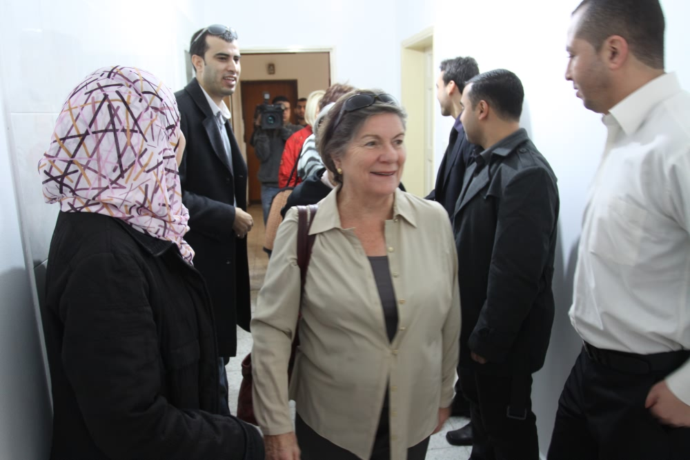 The inauguration of Euro-Med Monitor Regional Office in Gaza