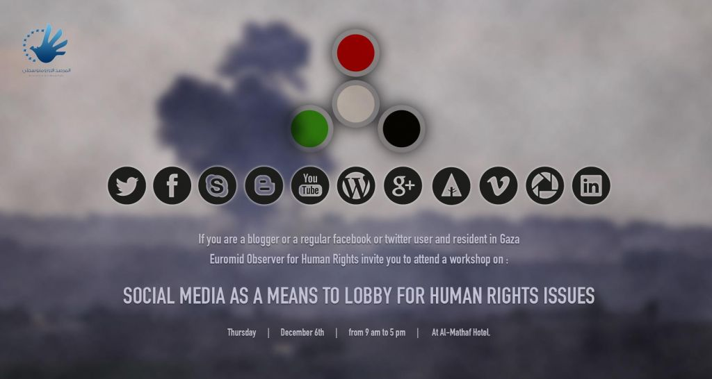 Workshop: Social Media As A Means To Lobby For Human Rights Issues
