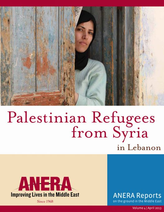 REPORT: Palestinian Refugees from Syria in Lebanon