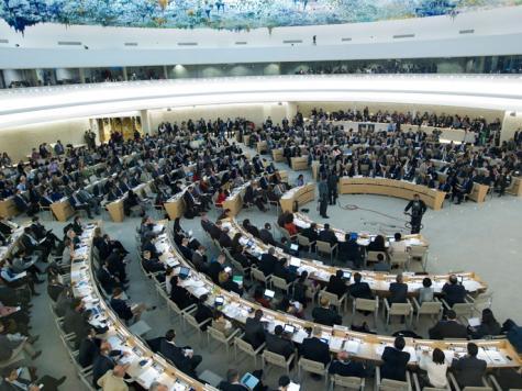 مجلس حقوق الإنسان التابع للأمم المتحدة يدين تدخل مقاتلين أجانب  في سوريا